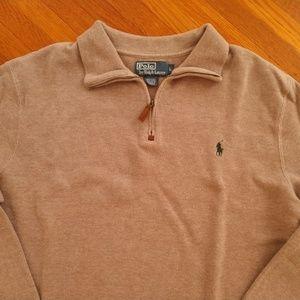 Polo Ralph Lauren Quarter Zipper Sweater Large